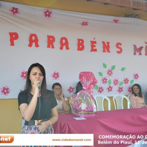 Comemoração ao Dia das Mães em Belém do Piauí