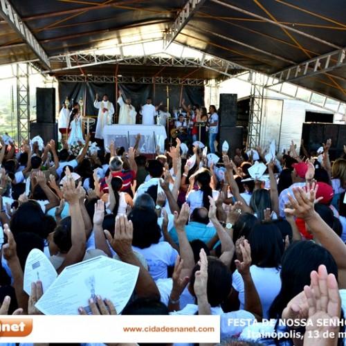 Fotos da festa de Nossa Senhora de Fátima, em Itainópolis