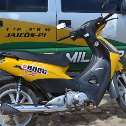 Moto furtada é recuperada pela Polícia Militar em Jaicós