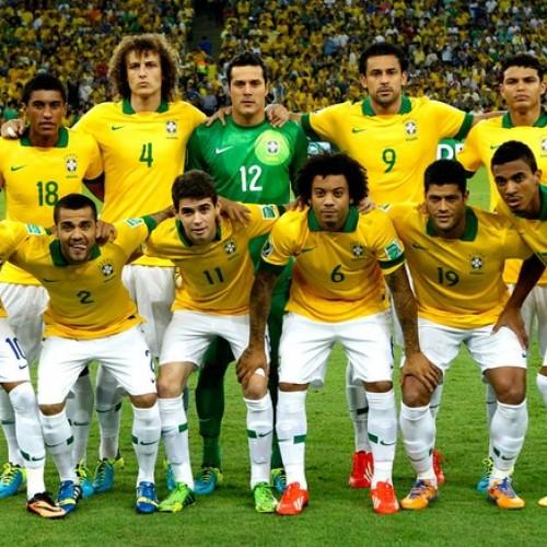 Brasil ganha duas posições e passa a ser o quarto no ranking da Fifa