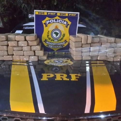 PRF apreende cocaína avaliada em R$150 mil em Picos