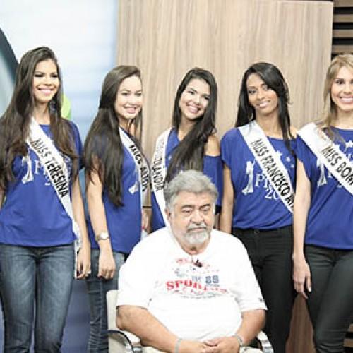 Candidatas ao Miss Piauí 2014 desfilam no Jornal do Piauí; veja fotos