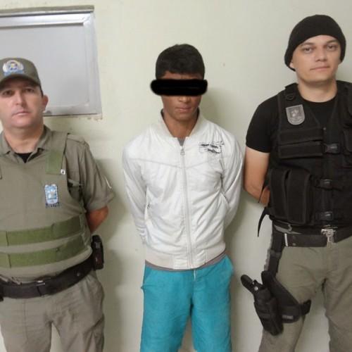 Polícia de Francisco Macedo prende mais um assaltante com moto roubada