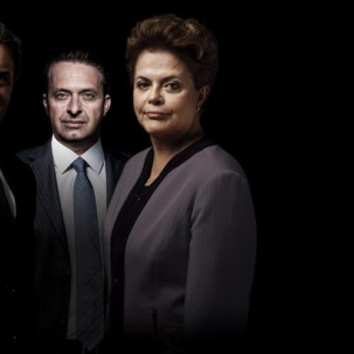 Dilma tem 37%, Aécio, 20%, e Campos, 11%, diz pesquisa Datafolha
