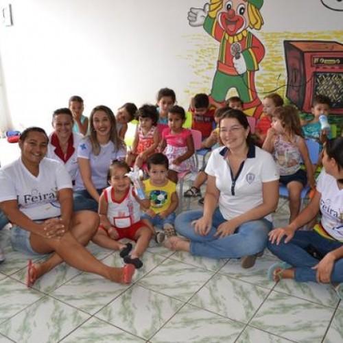 Programa leva ações de saúde para as escolas públicas em Alegrete do Piauí; veja fotos