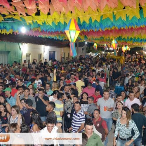 VILA NOVA: Fotos do arraiá do povoado São João Batista
