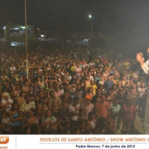 PADRE MARCOS: Fotos da Missa e show com Antônio Cardoso