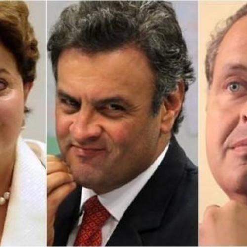 Pesquisa Ibope aponta Dilma com 39%, Aécio, 21%, e Campos, 10%