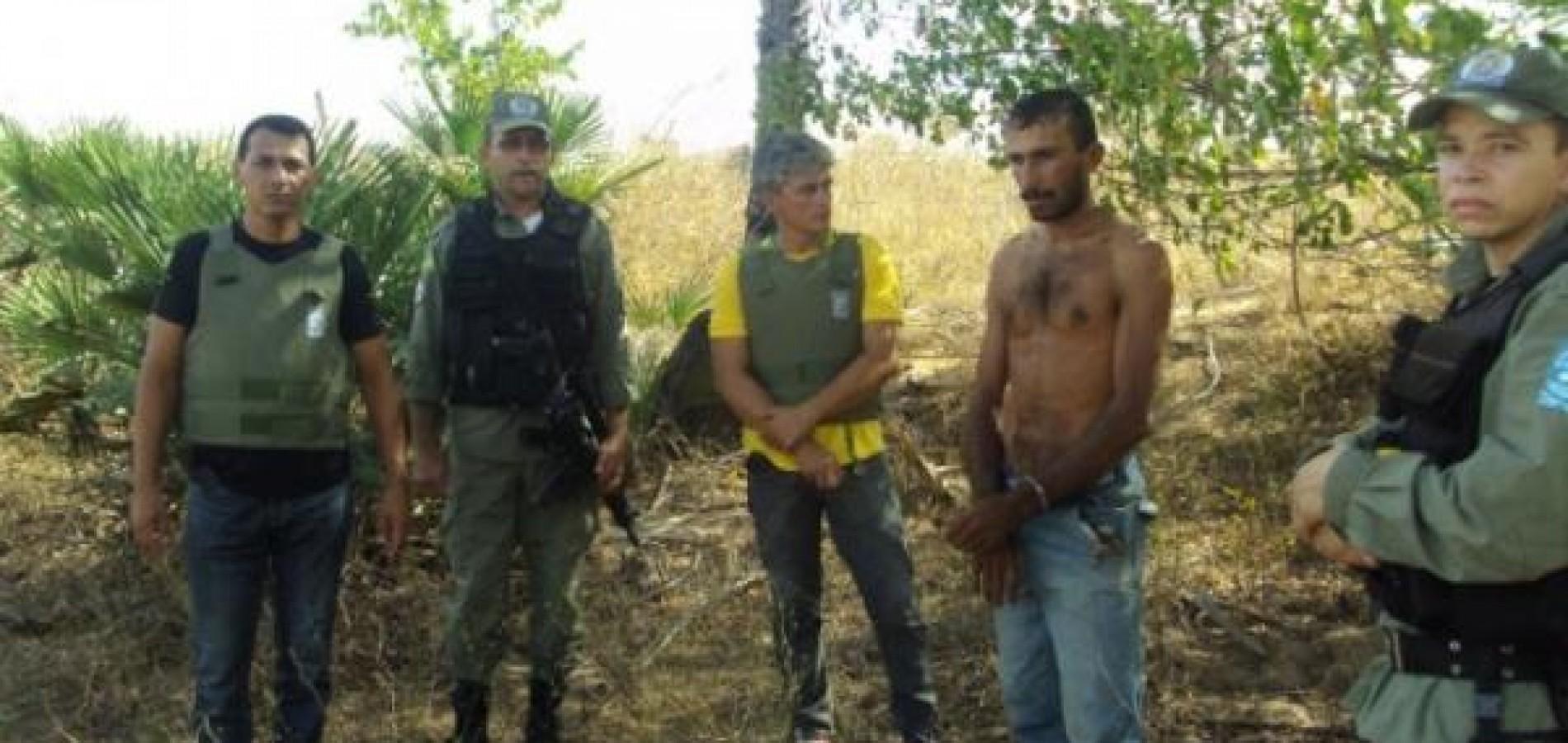 Polícia prende  acusado de matar pai e filho após sumiço de porcos