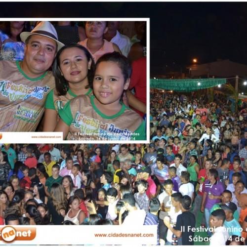 FOTOS: II Festival Junino de Vera Mendes