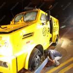 Homens armados com fuzis atacam carro-forte na BR-135, no Sul do Piauí