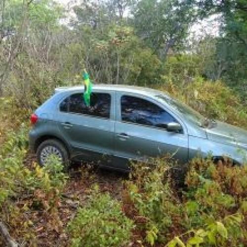 Picoense é feito refém e tem carro roubado na BR 316