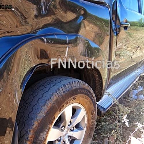 Após ter som do carro roubado, vereador capota veículo em Paulistana. Veja as imagens!