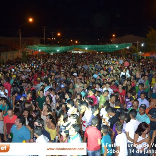 Em clima de Copa, Festival Junino movimenta cidade de Vera Mendes; veja fotos