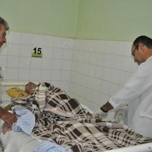 Pai que vivia em hospital com o filho em São Paulo chega ao Piauí