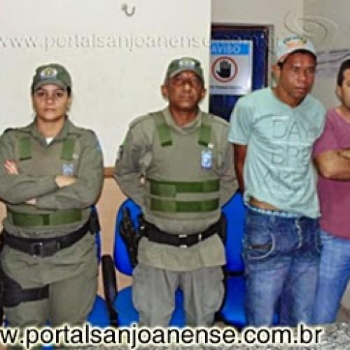 Policia de Paulistana e São João do Piauí prende acusado de assaltar, matar e esconder corpo de vendedor de Afrânio (PE). Veja!