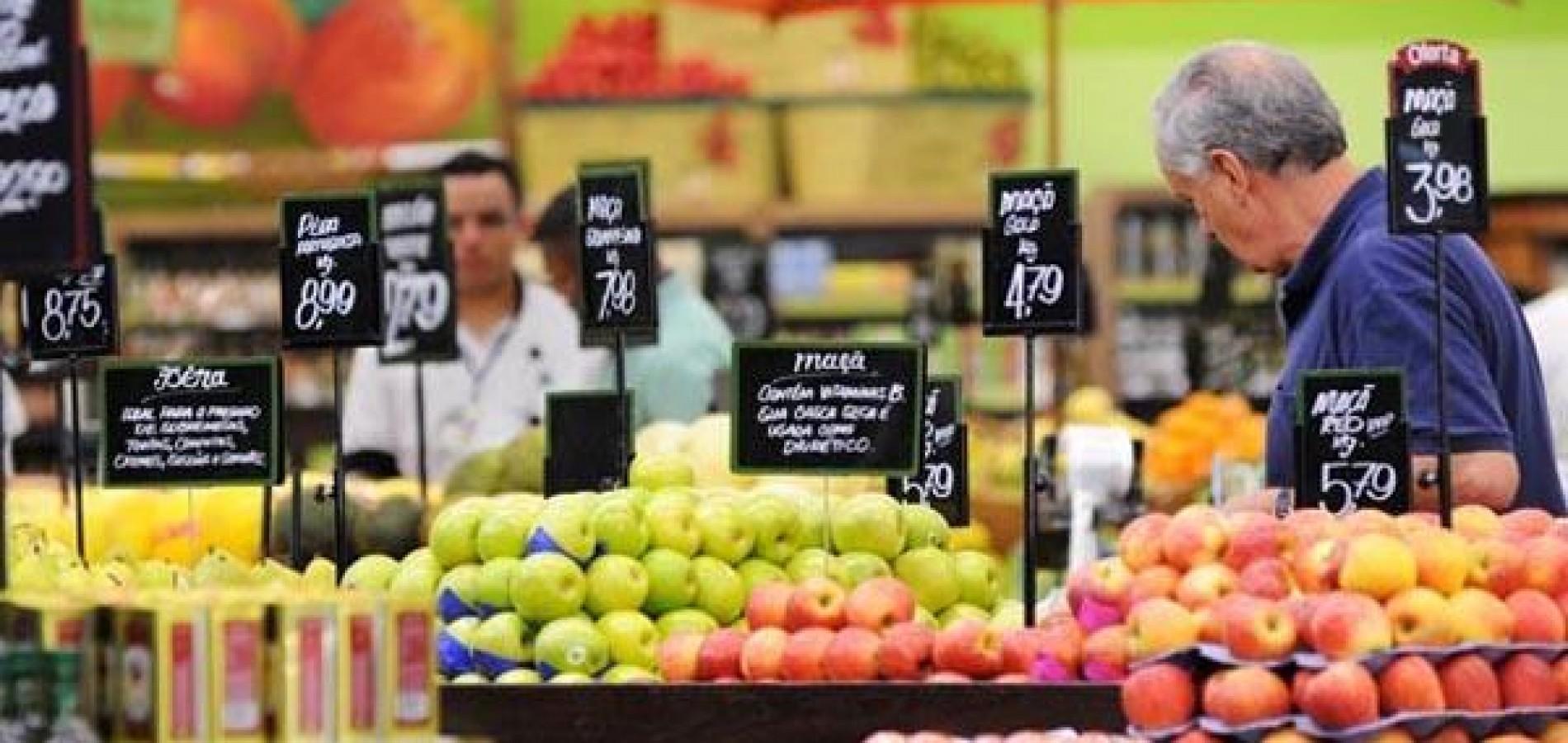 Prévia da inflação oficial fica em 0,47% no mês de junho