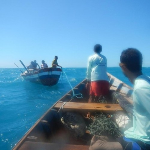 Após sete dias à deriva, pescadores são resgatados no mar próximo ao PI