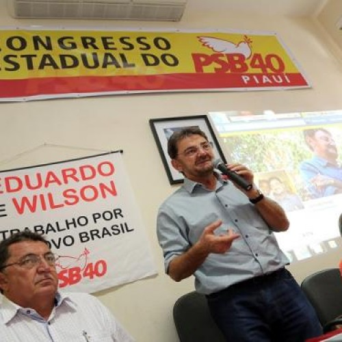 Wilson Martins é reeleito presidente estadual do PSB