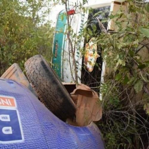Colisão entre ônibus e carro de reportagem do 180graus deixa uma pessoa morta na PI 225