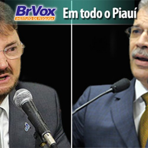 Wilson Martins aparece com 45% e João Vicente Claudino 28% em nova pesquisa