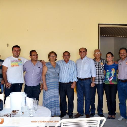 FOTOS   Visita de Marcelo Castro e Wilson Brandão a cidade de Jaicós