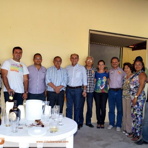 Em campanha, Marcelo Castro e Wilson Brandão visitam Jaicós e recebem novos apoios; veja fotos