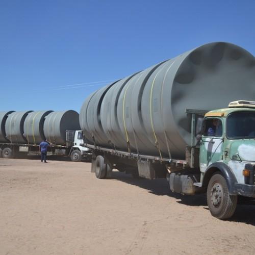 Belém do Piauí recebe cisternas do programa Água para Todos