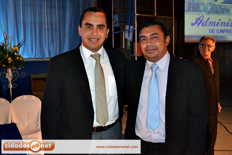 Georgiano com o vice-prefeito de Jaicós