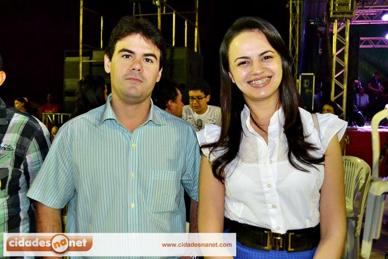 Severo Neto com a prefeita Débora Carvalho