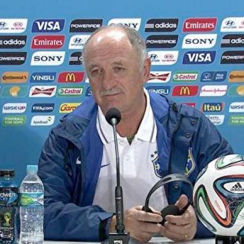 'Responsável sou eu', afirma Felipão sobre derrota do Brasil na semifinal