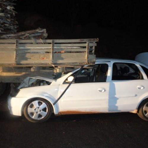 Integrantes de banda de forró se envolvem em acidente próximo a Francisco Macedo; fotos