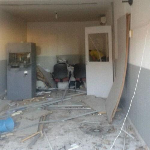 Asssaltantes explodem posto do Bradesco de Alagoinha do Piauí. Veja imagens!