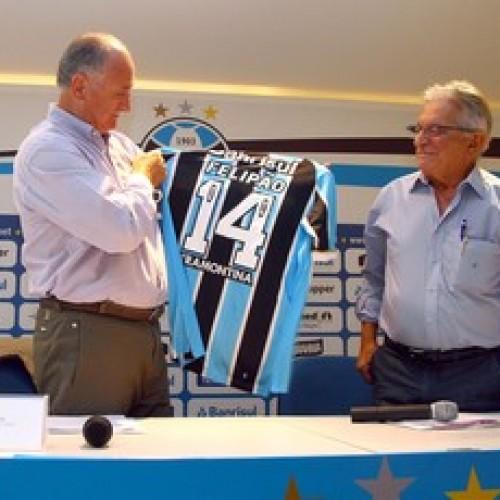 Grêmio anuncia o retorno de Felipão