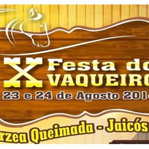 JAICÓS   Divulgada a programação da X Festa do Vaqueiro de Várzea Queimada. Veja!