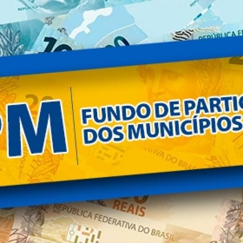 Segunda parcela do FPM referente a outubro será depositada próxima segunda