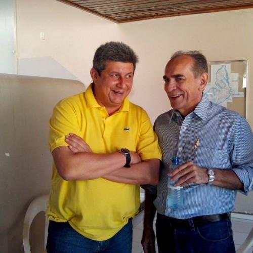 Zé Filho e Marcelo Castro juntos na campanha