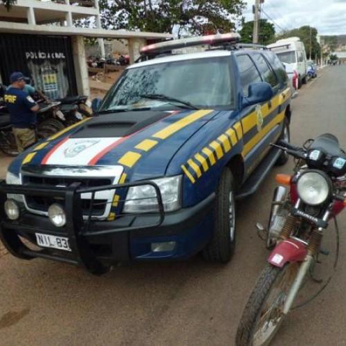 Moto roubada no Ceará é apreendida em Santo Antônio de Lisboa