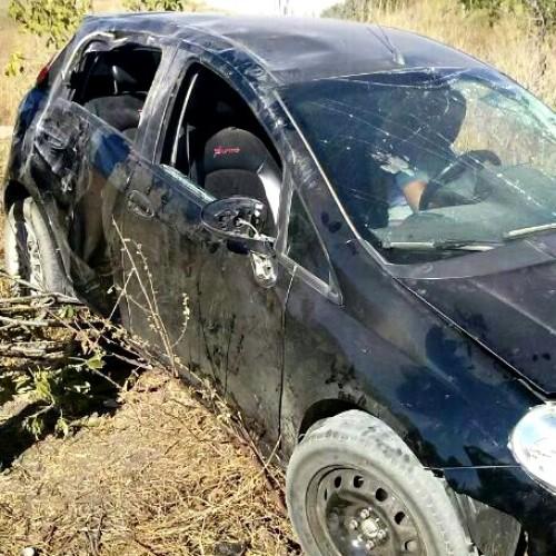 Jovem sofre acidente ao retornar de festa em Campo Grande do PI e fica gravemente ferido