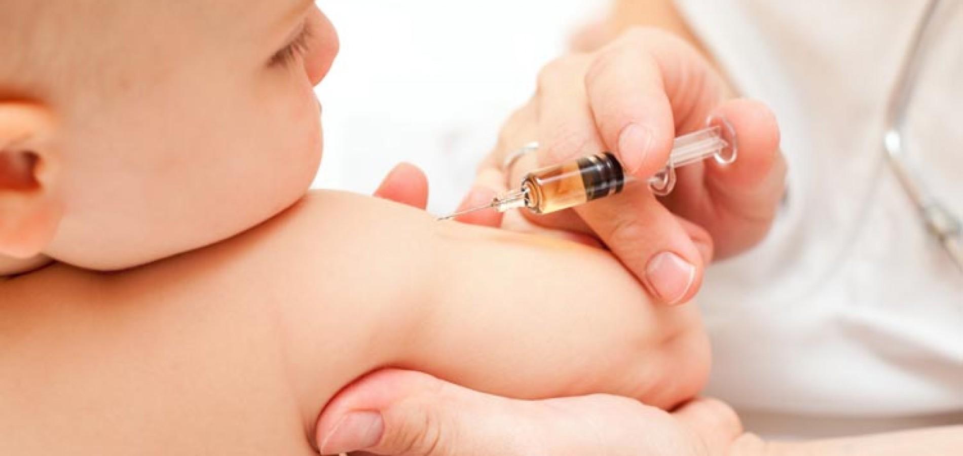 Quase 80 mil crianças já foram vacinadas contra paralisia infantil