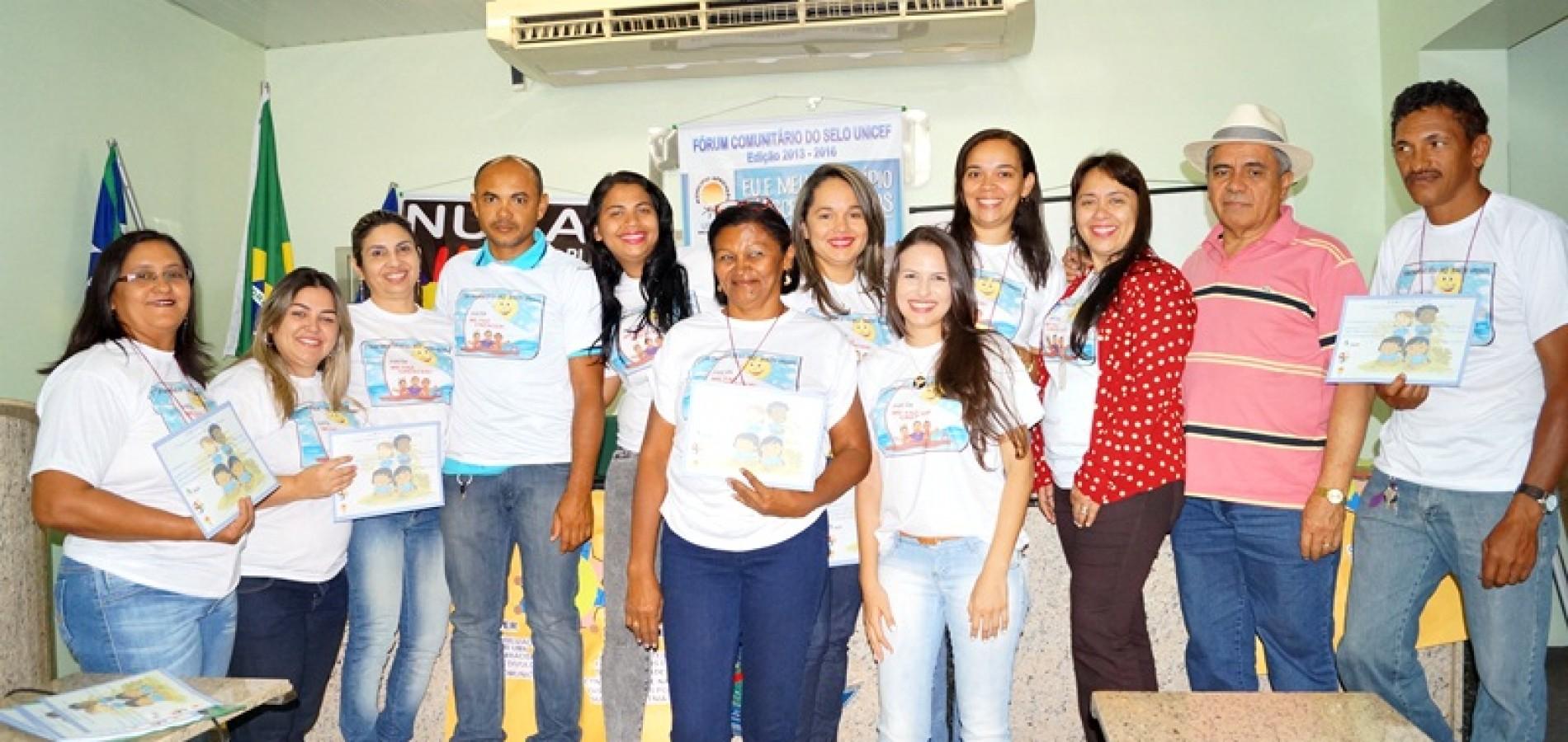 FOTOS   Fórum Comunitário do Selo Unicef em Jaicós