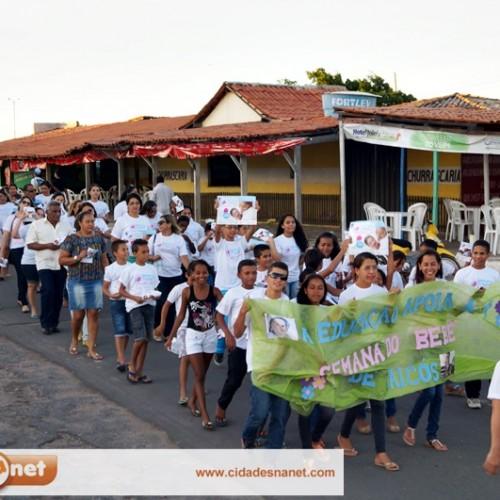 FOTOS   Caminhada da Semana do Bebê em Jaicós