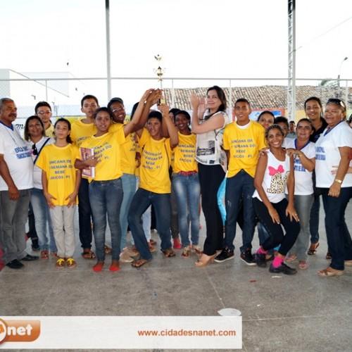 FOTOS | Ginaca intercolegial da Semana do Bebê em Jaicós
