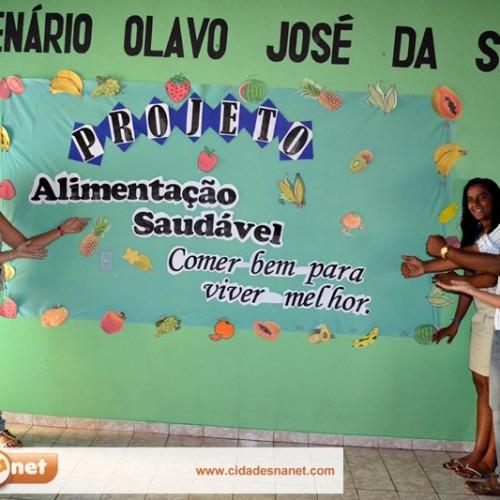 Projeto estimula alunos de Massapê do Piauí para uma alimentação saudável; fotos