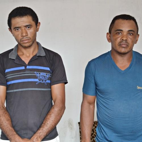 Dupla acusada de tráfico de drogas é presa em Campo Grande do Piauí; veja fotos