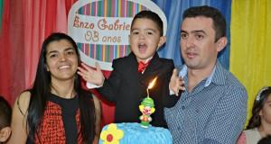GENTE EM EVIDÊNCIA   Enzo Gabriel comemora 3 anos com festa. Veja fotos!