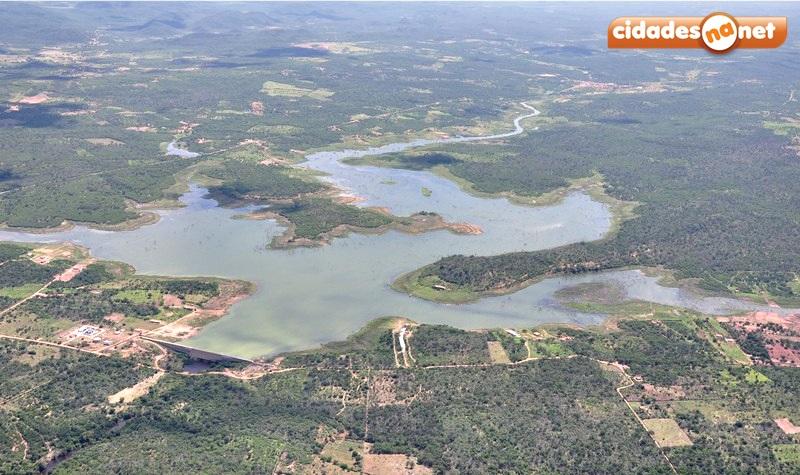 Vista aérea da barragem de Estreito - Foto: PM Francisco Macedo