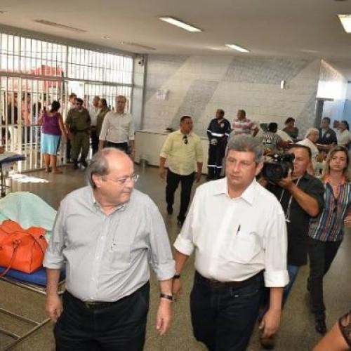 Zé Filho aceita desafio de Daniel Solon e visita Hospital de Urgência de Teresina