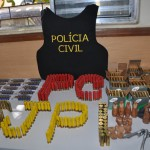 Polícia encontra arsenal de munições e prende comerciante no Piauí