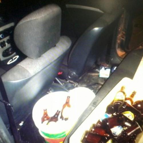 PRF encontra isopor com cerveja em veículo durante operação no Piauí